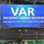Công nghệ VAR sử dụng trong World Cup 2018