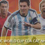 Tổng hợp các gói cước xem World Cup của Viettel, Vinaphone và Mobifone