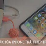 Cách ngăn chặn mở khóa iPhone, iPad trái phép trên iOS 12, chế độ hạn chế USB