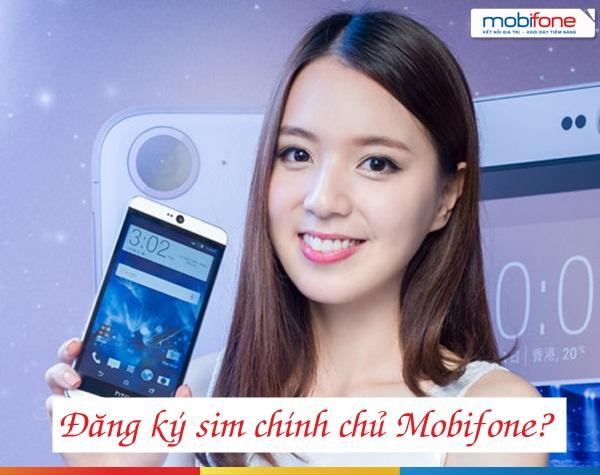 Cách đăng ký sim chính chủ Mobifone tại nhà trên điện thoại