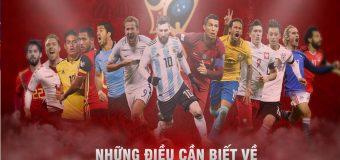15+ Điều thú vị nên biết về World Cup 2018 trên đất Nga
