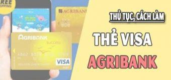 Hướng dẫn cách làm thẻ VISA Agribank, Mở thẻ tín dụng Agribank