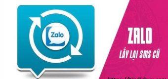 Hướng dẫn cách lấy lại tin nhắn Zalo khi đổi điện thoại