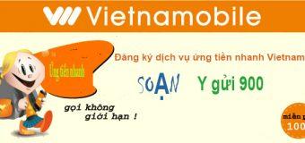 2 cách ứng tiền Vietnamobile từ 5.000đ đến 50.000đ nhanh nhất