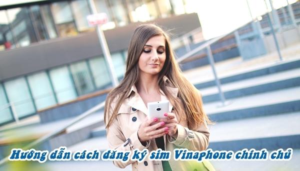 đăng ký sim Vinaphone chính chủ