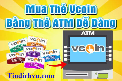 Mua thẻ Vcoin bằng ATM