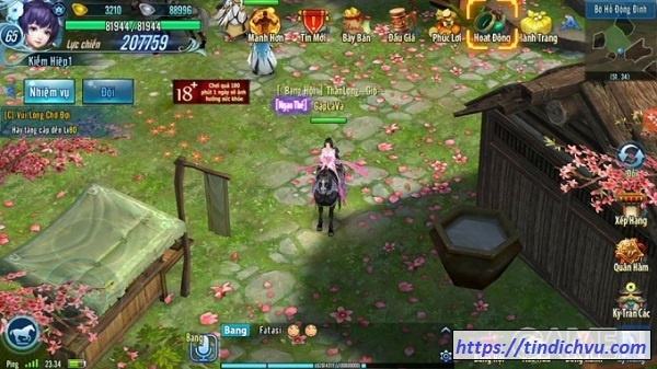 Cách nạp thẻ VLTK Mobile cho game thủ