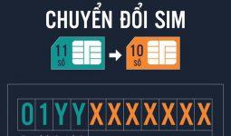 chuyển đổi sim 11 số sang 10 số của viettel