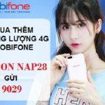 Hướng dẫn cách mua thêm dung lượng 4G Mobifone tốc độ cao