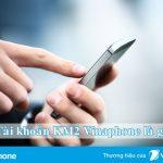 Tiết lộ tài khoản khuyến mãi 2 Vinaphone dùng để làm gì?