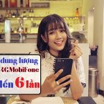 MobiFone tăng dung lượng 3G/4G hơn gấp 6 lầngiá KHÔNG THAY ĐỔI
