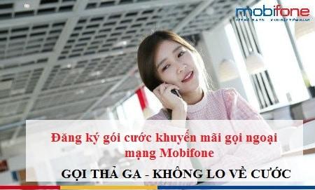 gói gọi ngoại mạng Mobifone