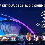 Kết quả bóng đá cup C1 2018/2019 đêm qua