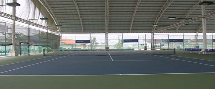 Hình ảnh sân tennis Tuyên Sơn Đà Nẵng trong nhà