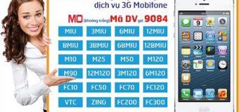 Hướng dẫn cách Đăng Ký 3G MobiFone 1 tháng, chu kỳ dài mới nhất 2018