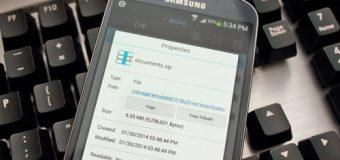 Hướng dẫn cách giải nén bằngES File Explorer trên Android