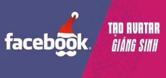 Hướng dẫn cách đổi avatar Facebook Giáng Sinh, Noel