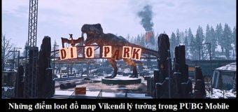 Những địa điểm loot đồ map Vikendi lý tưởng trong PUBG Mobile