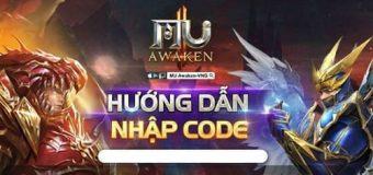 Tổng hợp và cập nhật các mã Code game MU Awaken VNG