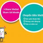 Cách chuyển tiền, bắn tiền mạng Viettel bằngdịch vụ I-Share