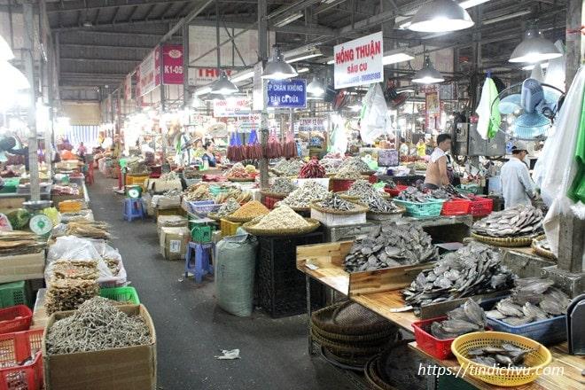 Các chợ hải sản Đà Nẵng tươi sống giá rẻ