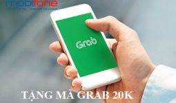 Mobifone tặng mã giảm giá Grab