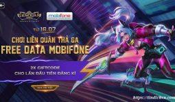 Cách đăng ký gói Liên Quân Mobifone 2019