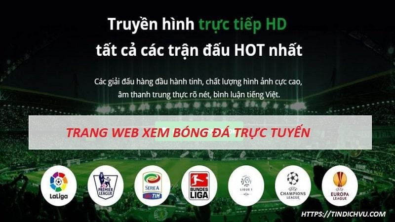 Tổng hợp các trang web xem bóng đá trực tuyến