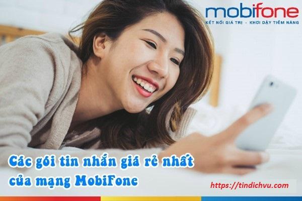 Các gói tin nhắn giá rẻ của Mobifone