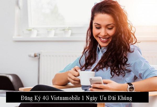 Đăng ký gói cước 4G Vietnamobile 1 ngày